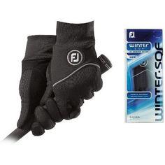 FootJoy WinterSof Golf Gloves Black Pair Mens Medium by FootJoy. $19.95. FootJoy WinterSof Golf Glove. Mens Medium Black