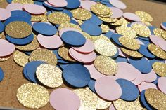 Perfect for making sure your next party is extra pretty! Each package of confetti comes with *150* pieces of confetti. Each piece of confetti is