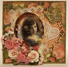 Memories...gorgeous embellishments and so sweet!