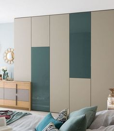 Never depart from your wardrobe doors empty. Instead simply replacing the wardrobe doors will help save you money and provide you a completely new loo. wardrobe Life, Death and Kids Wardrobe Design Wardrobe Interior Design, Wardrobe Design Bedroom, Bedroom Bed Design, Bedroom Furniture Design, Bedroom Decor, Master Bedroom, Bedroom Ideas, Bedroom Green, Bedroom Apartment
