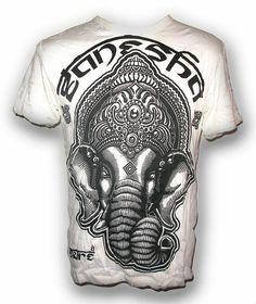 Sure TShirt Lord Ganesha Men Tee Chang OM Aum Hindu by SiamTrends, €12.99