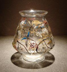 エミール・ガレ「エミール・ガレ:草花に虫 小花瓶」