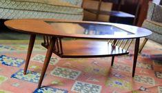 Atomic Surfboard Coffee Table