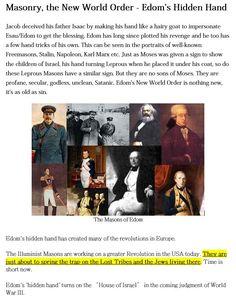 אַזהָרָה   The Illuminist Masons are working on a greater Revolution in the USA…