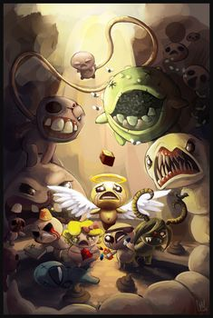 The Binding of Isaac by ~DrManiacal on deviantART
