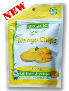 **NEW** Mango Chips - Original  $4.49 per bag  (Only sold in 6 pk)