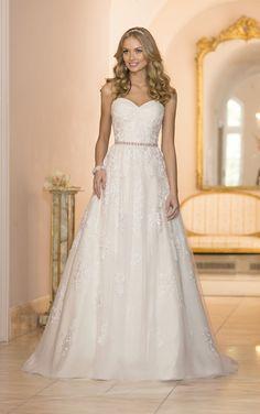 Wedding Dresses   Vintage Inspired A-Line Wedding Dress   Stella York 5968