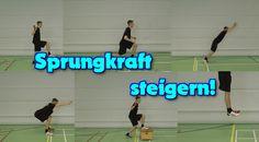 10 einfache Übungen zum Sprungkrafttraining u.a. für Volleyball. Viele animierte Bilder der Sprungübungen und Tipps!