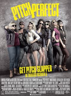 """""""Pitch Perfect"""" with Anna Kendrick, Rebel Wison, Brittney Snow, Anna Camp, Skylar Astin Pitch Perfect 1, Best Movies List, Good Movies, Awesome Movies, 2012 Movie, Movie Tv, The Hit Girls, Movies Showing, Movies And Tv Shows"""