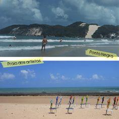 As praias de Natal-RN