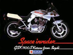 1981 Suzuki Katana - What a look...