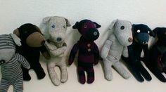 noraの作る方ミナのぬいぐるみ製作と日々のあれこれ Sock Dolls, Doll Toys, Softies, Plushies, How To Make Toys, Sock Animals, Cool Socks, Cute Crafts, Making Ideas