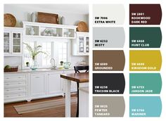 SW7006 extra white on the top? Chip It! by Sherwin-Williams – Home
