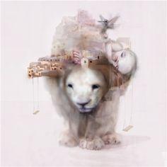 Amazing surrealism art by Chris Berens ! Go check his website... It's full of treasures !!!