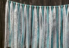 tiffany blue and burlap bridal shower   Free Shipping