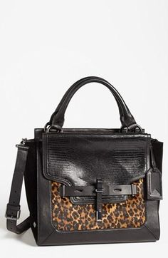 Vince Camuto Animal Print Satchel