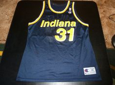 Vtg Reggie Miller Indiana Pacers NBA by VintageSportsStuff on Etsy, $45.99