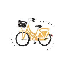 the kind of illustration I'd like to achieve, fun and uncomplicated! Art And Illustration, Bicycle Illustration, Buch Design, Dibujos Cute, Grafik Design, Doodle Art, Art Inspo, Illustrators, Print Patterns