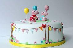 pasteles de baby shower de niño fotos