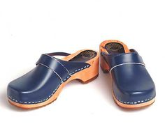 Clogs blue by berlin27clogs on Etsy, $49.00