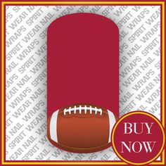 NFL #NailArt for the Washington #Redskins fan. Mix & Match to create a FANtastic #manicure. - What a fun Christmas gift idea!