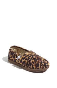 TOMS 'Classic Tiny - Leopard' Slip-On (Nordstrom Exclusive)