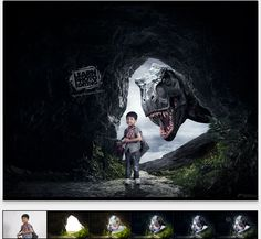 Learn how to make your photos unreal, as from the fantasy movies, as Jurassic park movie. What do you think how such movies were made? Of course by Photoshop expert as you become thanks to our Photoshop tutorials.