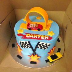 Cakes by Mindy: Hot Wheels Cake 8""