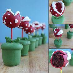 Cute cake pop idea