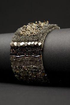 Tailored Couture Cuff | Andrea Gutierrez Jewelry