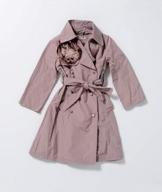 Lanvin Petite Pink Trench