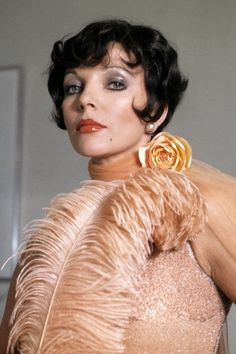 Joan Collinsis a bird of a feather in 1974'sFallen Angels