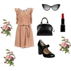 dress of the day, created by artmama on Polyvore