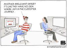 Customer Journey cartoon