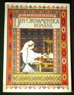Book Romanian Folk Embroidery Weaving Patterns Peasant Textile Art Blouse | eBay