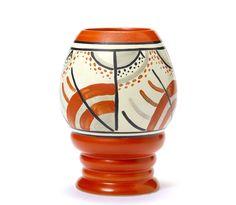 Clarice Cliff, Carpet, 362 Vase