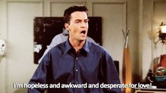 21 Signs Chandler Bing is Your Spirit Animal | The Odyssey