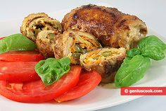 The Rolls from Turkey Breast Recipe | Meat Dishes | Genius cook - Healthy Nutrition, Tasty Food, Simple Recipes
