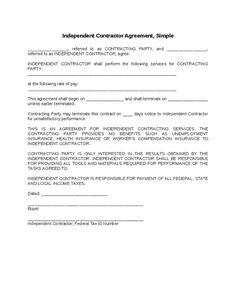 free printable independent contractor agreement form printable real estate forms 2014. Black Bedroom Furniture Sets. Home Design Ideas