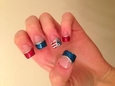What I did for the 4th of July!!:)  my best friend is so talented