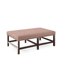 Ottoman Table, Upholstered Ottoman, Bench Furniture, Outdoor Furniture, Outdoor Decor, Water Based Stain, Extra Seating, Decoration, Slipcovers