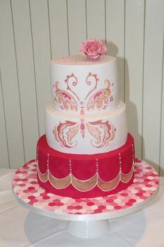 Butterfly Cake - Cake by Alanscakestocraft