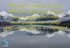 Monday Motivation with Napoleon Hill