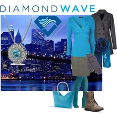 """""""Diamond casual - because why wouldn't you?"""" by maria-kuroshchepova on Polyvore"""
