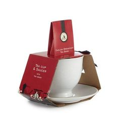 Mrs Bridges White ceramic cup and saucer | Debenhams