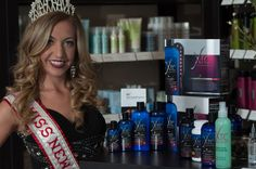 Miss New York and the XTC salon product line by HLCC®.