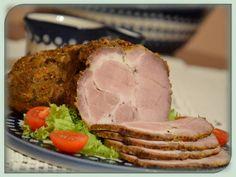 Domowa kuchnia Aniki: Pieczona karkówka - na obiad i jako wędlina