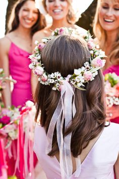 flower girl wreaths