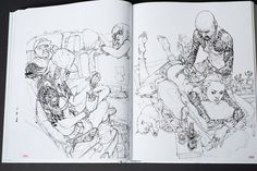 Kim Jung-Gi 2011 Sketch Collection