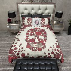 WHAT'S INCLUDED: What is a Duvet Cover? A Duvet Cover is a protective case for your comforter, similar to how a pillow case works to keep your pillow clean, usually with a snap or zippered closure at Cream Bedding, Duvet Bedding Sets, Luxury Bedding Sets, Blue Bedding, Star Bedding, Gothic, Cozy Bed, Soft Blankets, Bedding Collections